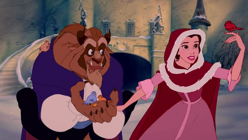 [HD] Beauty and the Beast - Theres Something There [Russian Version]