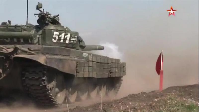 Новобранцы из танковых подразделений ЮВО на Кубани и в Ставропольском крае осваивают модернизированные танки Т72Б3 АрмияРоссии