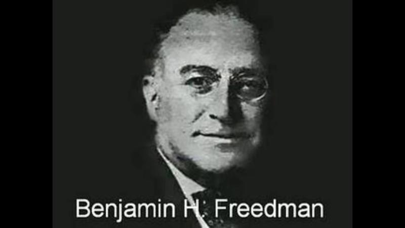 Benjamin H Freedman Rede im Willard Hotel 1961 deutsche Synchronisation