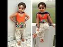 Latest Punjabi Suit Design For Baby girl Designer Salwar Suit For Kids