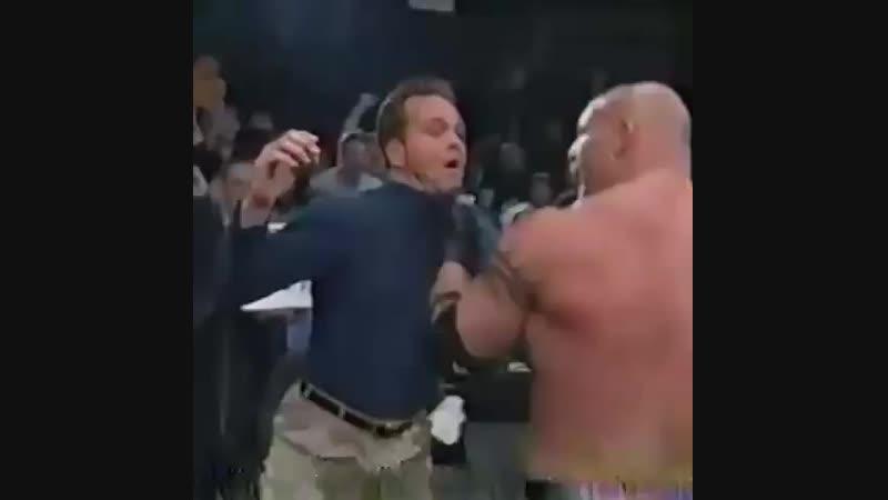 Goldberg destroys WCW