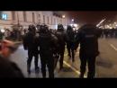 Задержания в Санкт Петербурге на акции сторонников Навального Full