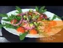 Салат из хурмы и авокадо Кулинары