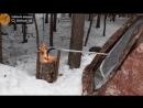 Финская свеча поможет отопить палатку