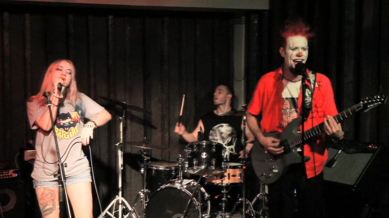 Zombietown - Afraid of heights (live at Halloween Party) Billy Talent cover