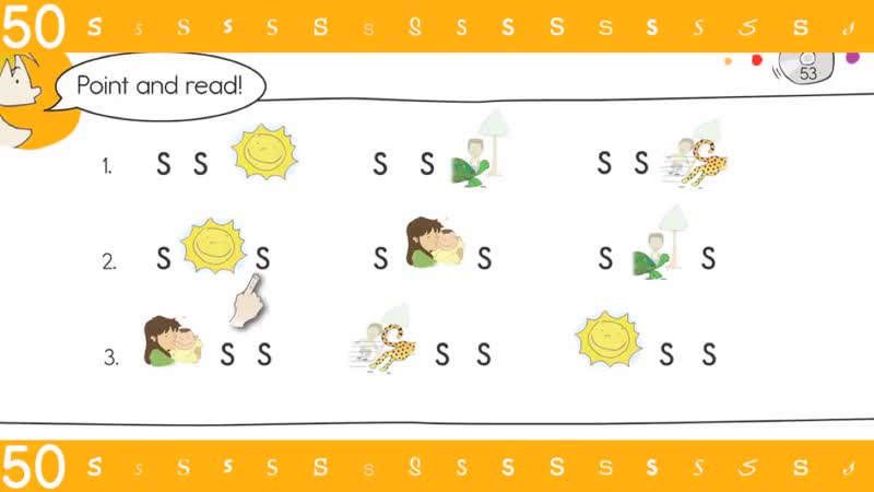 53. Ss Rebus Chant - Think Read Write by ELF Learning