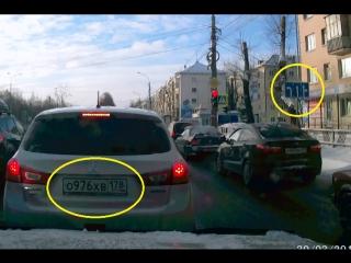 Архангельск. о976хв/178 из центрального ряда налево.