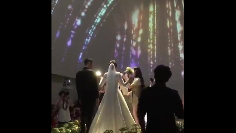 180623 Dalshabet 달샤벳 singing to Supa Dupa Diva at Kaeuns 가은 wedding 5