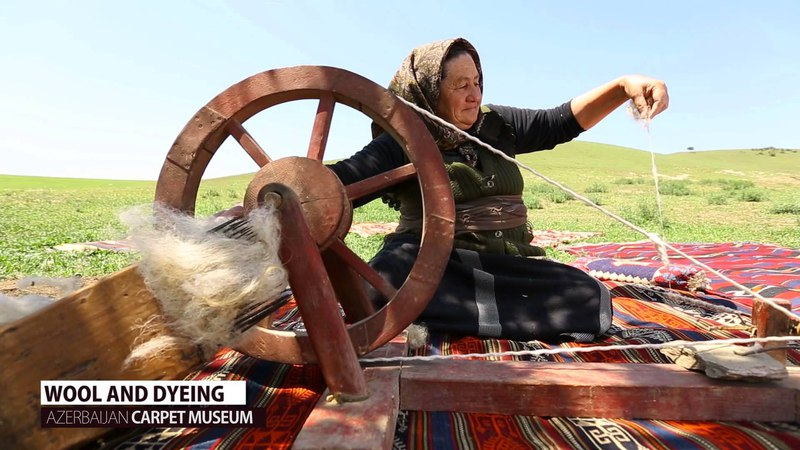 WOOL AND DYEING