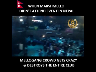 Mellogang in Nepal destroy the club