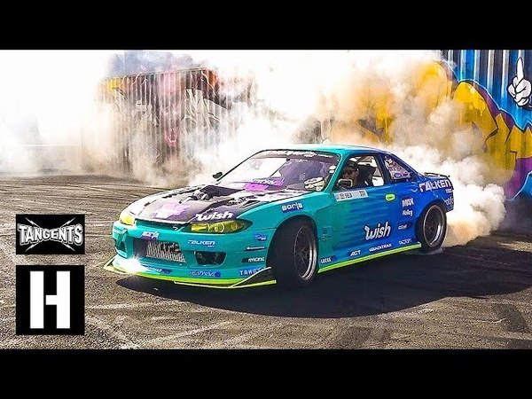 1000hp Supercharged s14 - Ken Block - Terra Crew LS Fest West Huck Session