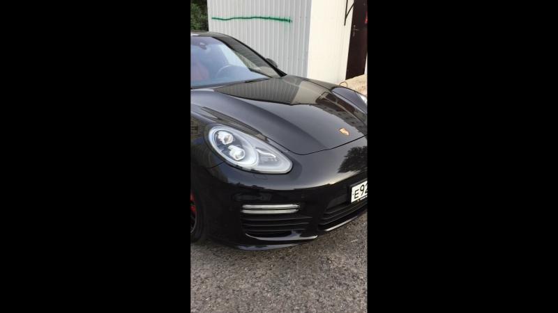 Porsche panamera turbo s esketit edition 9.5 bar