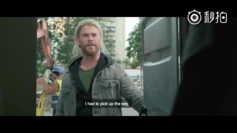 Thor Ragnarok - Deleted scene after Thor meets Doctor Strange - Loki Vs Doctor S