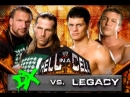 WWE Mania Hell in a Cell 2009 DX vs Legasy Hell in a Cell Match