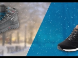 Ботинки VS Кроссовки