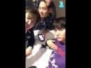[V LIVE] 180516 XENO-T (B-Joo, Sangdo, Hojoon) Magic fail..😭 (쥬술 실패..😭) - 4