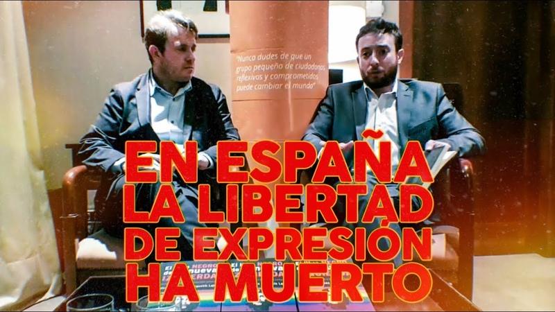 En España la libertad de expresión ha muerto. Agustin Laje y Nicolas Marquez Censurados