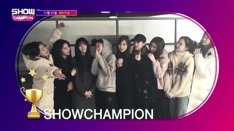 Twice - No.1 @ Show Champion 181121