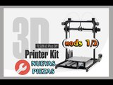 FLSUN I3 PLUS Dual Extruder - MODS - piezas impresas (12)