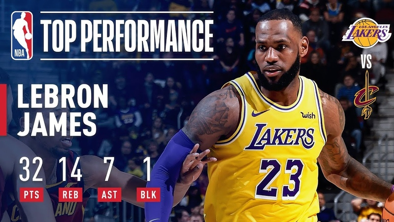 LeBron James Returns to Cleveland as a Laker! | November 21, 2018 NBANews NBA Lakers LeBronJames