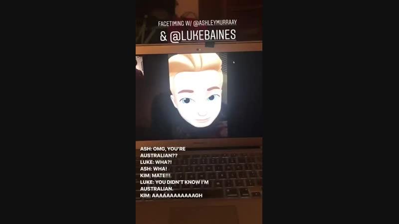 Pre trip FaceTime is mandatory @KSueMurray @LukeBaines FriendshipGoals ShadowFam