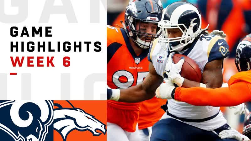 Rams vs. Broncos Week 6 Highlights _ NFL 2018