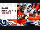 Rams vs. Broncos Week 6 Highlights _ NFL 2018