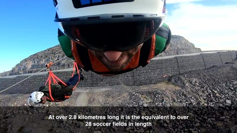 Longest zipline in the world - 'Jebel Jais Flight on UAE's highest mountain in Ras Al Khaimah