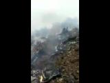 Падение самолета в Китае