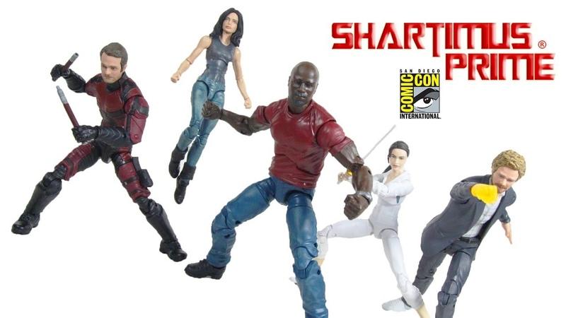 Marvel Legends Netflix Defenders SDCC 2018 Exclusive Box Set Hasbro Action Figure Toy Review