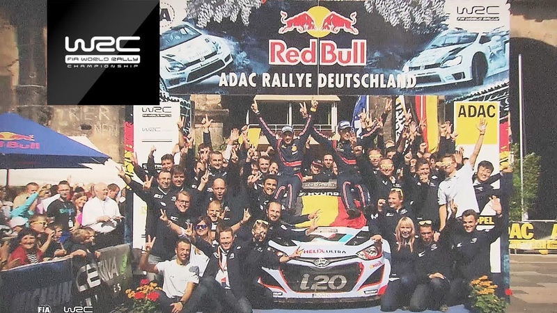 WRC - ADAC Rallye Deutschland 2018 Previous Winners