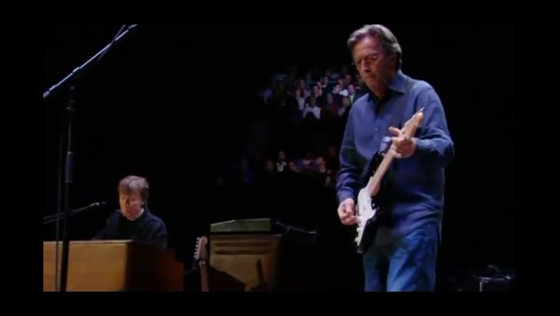 Eric Clapton performing at Madison Square Garden in NYC...