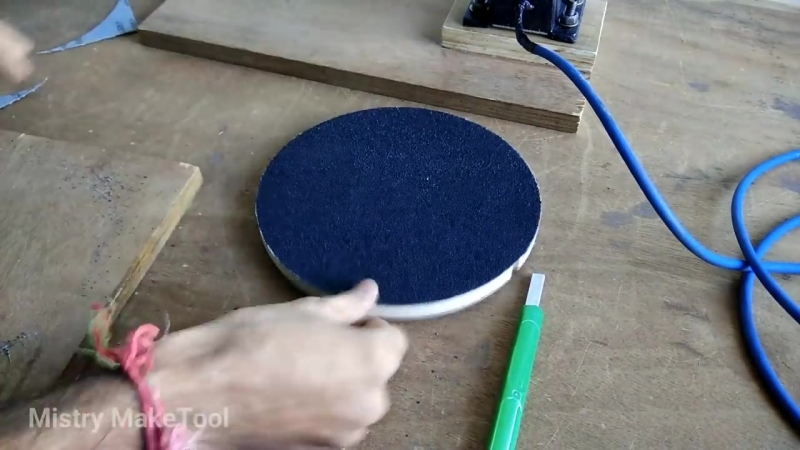 Make A Disc Sander Homemade 8 Disc Sanding Machine