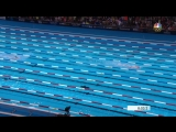 Ledecky Toes Own World Record Line To Win 800m Free