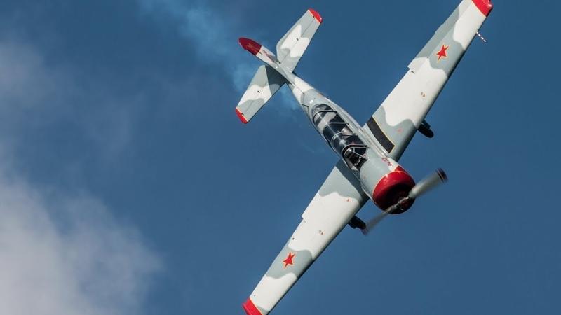 Тренировочный полет на Як-52