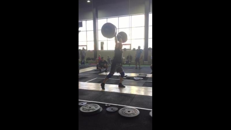 Толчок 137 кг