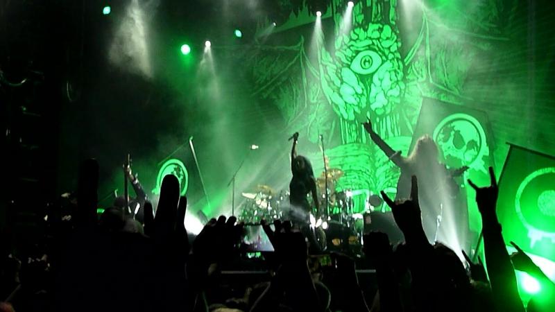 Arch Enemy - No Gods, No Masters, Dead Bury Their Dead (Москва, ГлавClub, 10.10.2017)