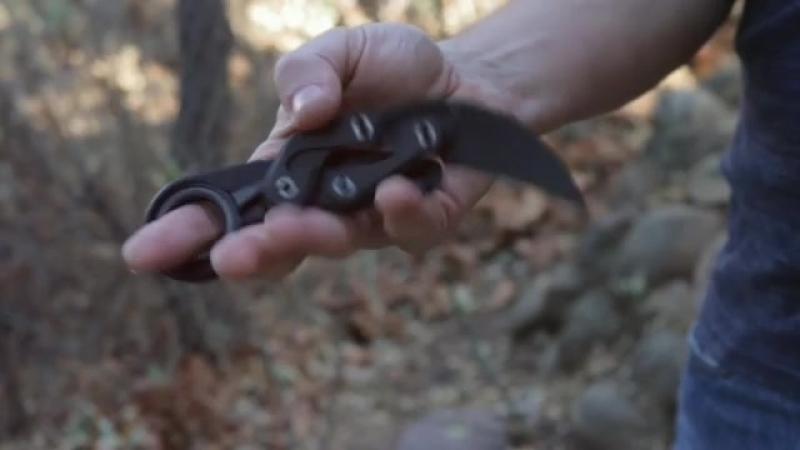 Caswell Knives Morphing Karambit V2