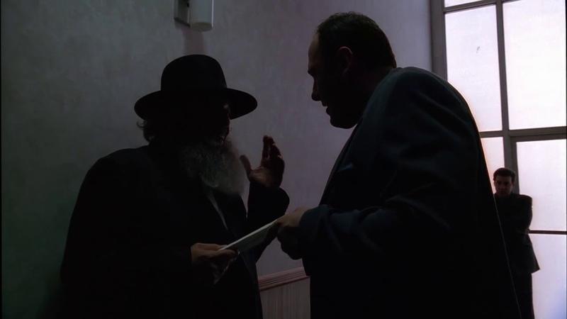 Клан Сопрано, Тони приводит в чуство охеревшего еврея хасида, который удумал его кинуть