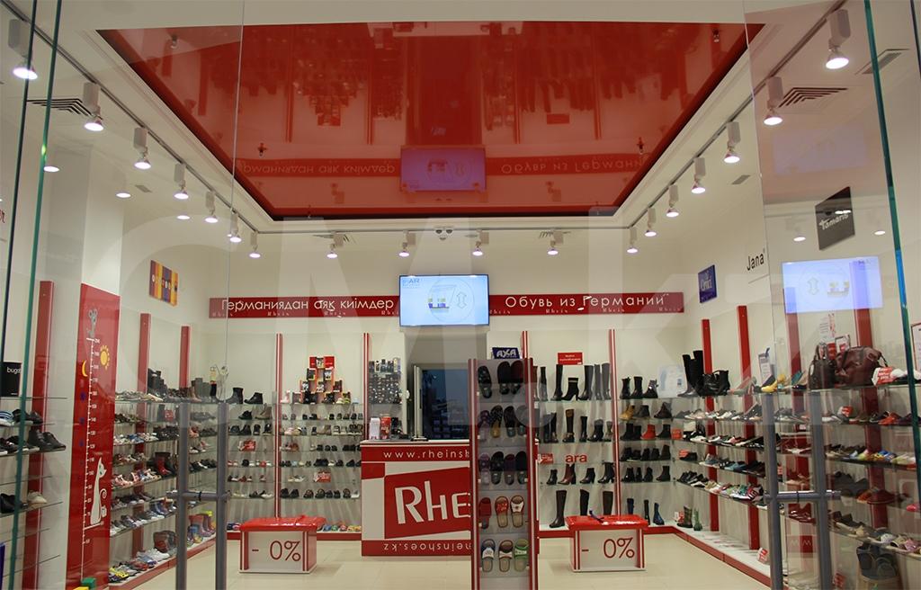Обувной магазин под ключ Алматы