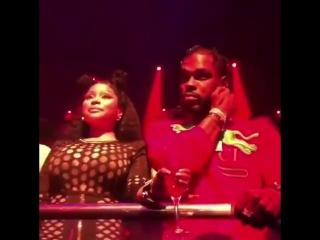 Nicki out clubbing last night!