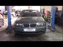 BMW 330D M57 E46 2002 Замена цепей Часть первая Разбираем