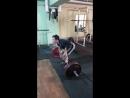 Унтура Александр становая тяга 130 кг