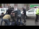 На Украине уже начали происходить столкновения между полицией и бойцами «Национальных дружин»