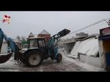 В Калининграде в понедельник утром начался снос промтоварного рынка
