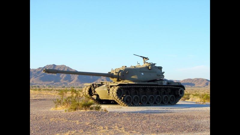 Загляни в реальный танк М103. Часть 2 . В командирской рубке