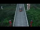 Range Rover взобрался на лестницу с уклоном 45 градусов, в которой 999 ступеней!