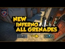 NEW INFERNO 20 MUST KNOW GRENADES CSGO Tips and Tricks