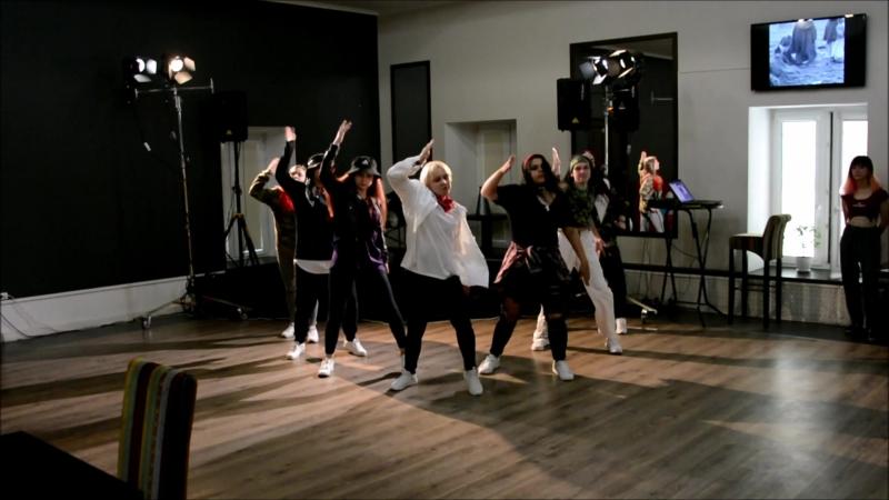 """NSD WAY crew K-POP COVER DANCE `BTS` - (КАФЕ ДРАНКОВЪ киноцентр """"Ленфильм"""")"""