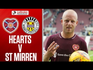 Hearts vs. St Mirren _ Naismith Hat-Trick Wins the Game